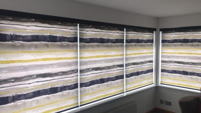 Roller Blinds with Fascia Pelmet Fitted In Ayrshire