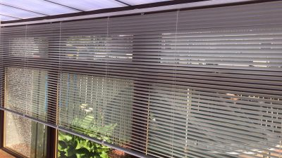 Conservatory Venetian Blinds fitted in Ayrshire