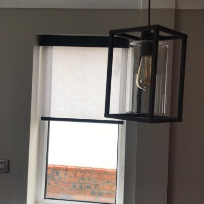 Senses roller blind fitted in Ayrshire
