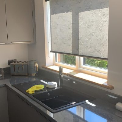 Roller Blind fitted in Ayrshire